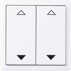 Mini 4-channel blind pure white brilliant
